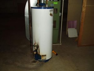 malfunctioning water heater